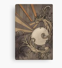 Pearl of the sea Canvas Print