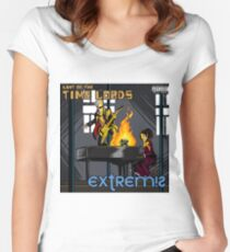 Last of the Time Lords Women's Fitted Scoop T-Shirt