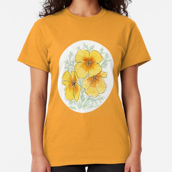 California Poppy Classic T-Shirt