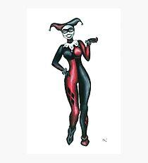 Classic Harley Quinn Photographic Print
