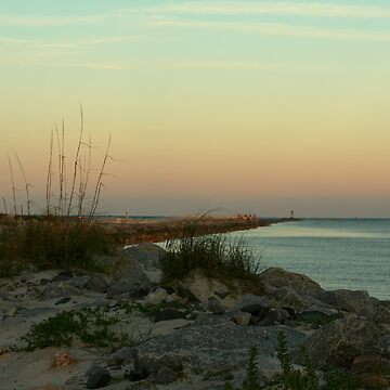Ponce Inlet Jetty by NSightStudios