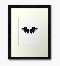 Raven Wings Framed Print