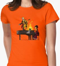 Last of the Time Lords (no background) Womens Fitted T-Shirt