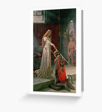 Accolade by Edmund Blair Leighton Greeting Card