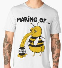 How To Make Funny Honey - The Real Way Men's Premium T-Shirt