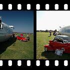 DC3 Motorhome & Me109 @ Amberley Airshow 2008 by muz2142