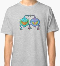 Mr. and Mrs. Blob Monsters Classic T-Shirt