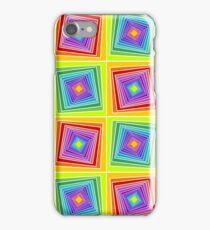 Rainbow Geometrical Tunnels iPhone Case/Skin