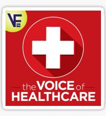The Voice of Healthcare Sticker