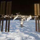 International Space Station in Orbit by Robert Partridge