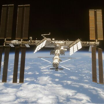 International Space Station in Orbit by robertpartridge