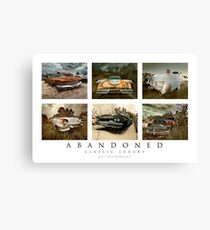 Abandoned Series - Classic Luxury Canvas Print