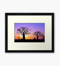 A Kimberley Sunset Framed Print