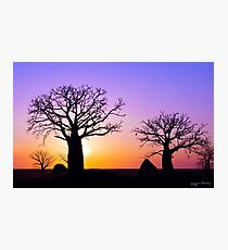 A Kimberley Sunset Photographic Print