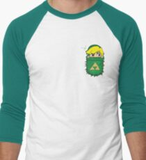Pocket Link Men's Baseball ¾ T-Shirt