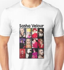 Sasha Velour Mosaic Unisex T-Shirt