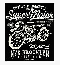 Super Motor NYC Brooklyn Photographic Print