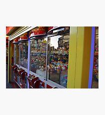 Soft Toy Grabber, Claw Machine Photographic Print