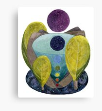 Cosmic Center Canvas Print