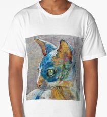 Blue Sphynx Long T-Shirt