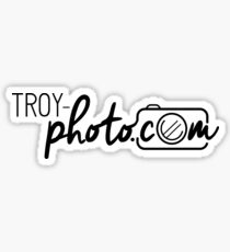 Troy Photocom Logo Sticker