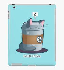 Cute Cat Coffee: Decaff Cat iPad Case/Skin