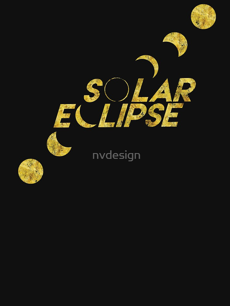 Solar Eclipse Progression by nvdesign