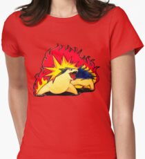 Eruption Womens Fitted T-Shirt