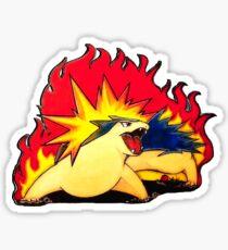 Eruption Sticker