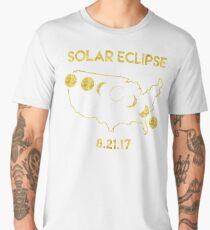 Solar Eclipse 8-21-2017 Men's Premium T-Shirt