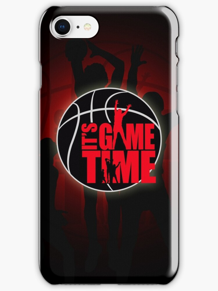 It's Game Time - Red by Adam Santana