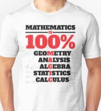 Mathematics Is 100% Magic T-Shirt
