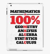 Mathematics Is 100% Magic iPad Case/Skin