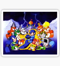 Mega Man 4 Sticker Sticker