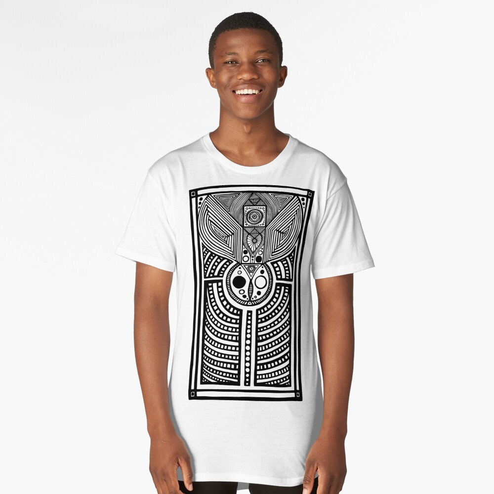 Sipping From Moonlit Waters Long T-Shirt Front