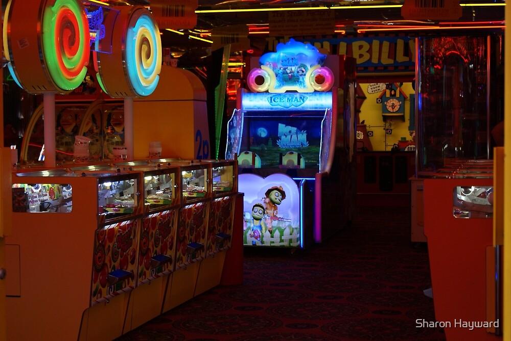 Amusement Arcade, 2p Machines by Sharon Hayward