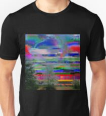 it was a bright glitching day Unisex T-Shirt