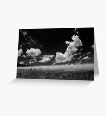 Bouncing Clouds Greeting Card