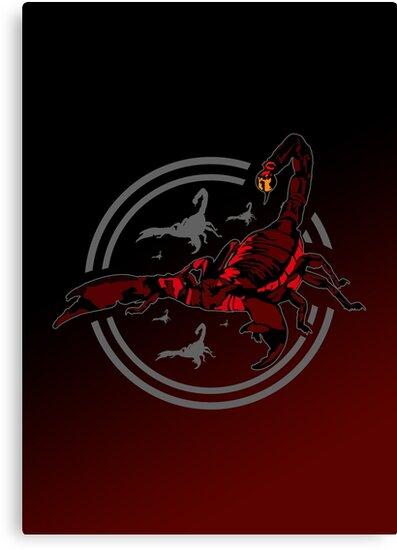 Red Scorpion by Adam Santana
