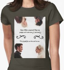 Captain Swan We Fought For Our Love and We Won Womens Fitted T-Shirt