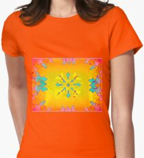 ROSEMALING FANTASY Womens Fitted T-Shirt