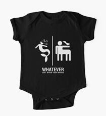 WHATEVER Just Wash Your Hands (White version) One Piece - Short Sleeve