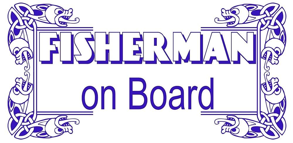 Fisherman onboard by bluehair