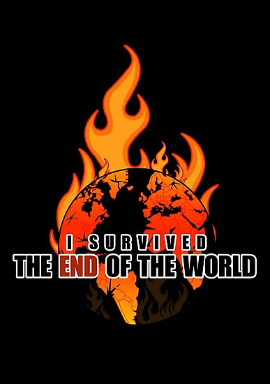 I Survived The End of the world by Adam Santana