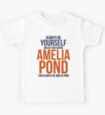 Always Be Amelia Pond Kids Tee