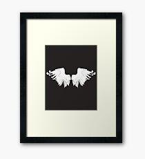 White Wings Framed Print