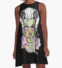 Frankenstein's Bride  A-Line Dress