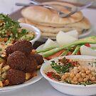 Israeli Food Hummus and Falafel by PhotoStock-Isra
