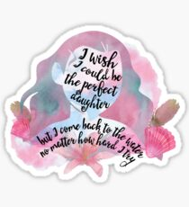 perfect daughter v1 Sticker
