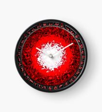 Porthole to the Red Planet Clock